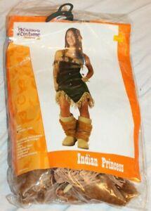 California Costume Teen Junior (3-5) Indian Princess Halloween Costume Dress