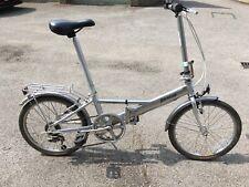 "Phillips/Dahon folding bike / cycle,  aluminium frame, 20"" wheels with bag"