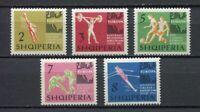 26943) Albania 1963 MNH European Games 5v