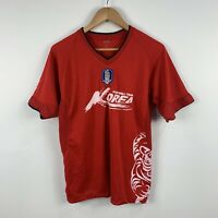 Korea Football Team Soccer Jersey Mens Size Medium Short Sleeve