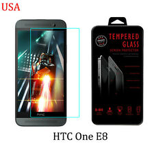 HTC One E8 Premium Ultra Clear HD Tempered Temper Glass Screen Protector