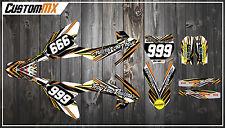 KTM SX50 kit de gráficos SX65 con números de encargo Etc-SX 50 65 2002-2019 Par