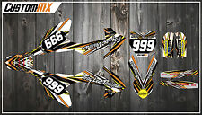 KTM SX50 SX65 Graphics Kit with custom numbers etc - SX 50 65 2002-2018 TORQUE