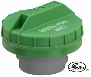 Diesel Gas Fuel Tank Filler Cap GATES Replace FORD OEM# 34077D Green Threaded