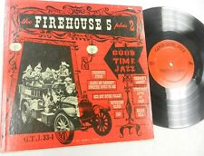"FIREHOUSE 5 Plus 2 Good Time Jazz 10"" LP"