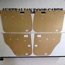 Toyota 80 Series Land Cruiser Masonite Door Cards / Trim Panels - Base Model