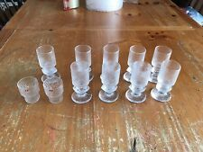 ittala Ultima Thule 9 Cordial Footed 2 Shot Glasses