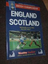 Pre-Season/Friendly Football International Fixture Programmes