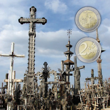 Lithuania coin 2 euro  2020  Hill of Crosses  coin card