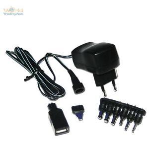 Universale Presa di Rete Interruttore-Alimentatore 600mA USB