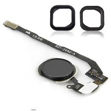 NEW Replacement Black Home Button With Flex Cable For iPhone SE With Rubber Seal