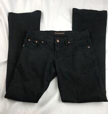 Pepe Women's Jeans London S73 stretch Flare Jeans size 25 Black denim ~AJ