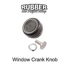 1968 1969 1970 1971 1972 Ford Window Crank Knob - Black