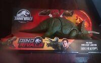 Jurassic World GDT42 Dual Attack Triceratops 34.3cm x 17.8cm x 7.6cm