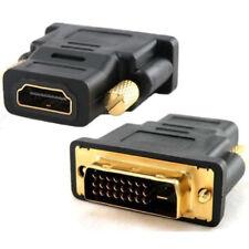 1080p Adapter Vergoldete Steckkontakte DVI-D Stecker auf HDMI Weiblich Buchse