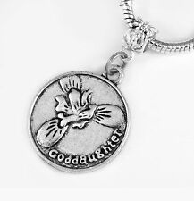 Goddaughter charm God daughter gift best Jewelry family god child European style