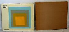 Eugen Gomringer Josef Albers Monograph Silkscreen Prints Seriagraphs Slipcase HC