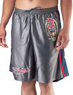 Ed Hardy Mens Sport 100 Polyester Athletic Mesh Sweat Pants Shorts