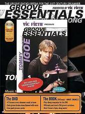 NEW Tommy Igoe: Groove Essentials (Book, CD & DVD) by Tommy Igoe