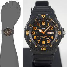 Reloj Nuevo Casio MRW-200H-4BV Hombres Análoga 100m WR Día Fecha Resina