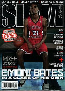 SLAM Magazine April May 2021 Emoni Bates Factory Sealed w Anthony Edwards Poster