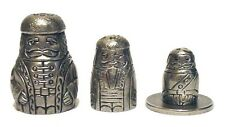Russian Doll Cossak Man Thimble Fingerhut Pewter Collectible Thimble