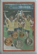 Southampton FC The Saints Vintage F.A Cup Final Winners Retro Coin Gift Set 1976