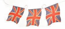Faded Union Jack paper bunting for VE Day