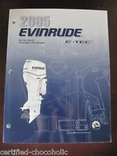 2005 Evinrude Service Manual 40, 50 and 60 HP , E-TEC - FREE PRIORITY SHIPPING