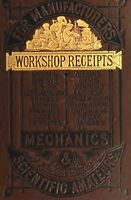 WORKSHOP RECEIPTS DISK COLLECTION 5 VINTAGE RARE BOOKS