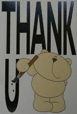 Thank U Card  with Cream Envelope