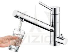 Rubinetto cucina 3 vie depuratore acqua osmosi filtro miscelatore lavello VIZIO