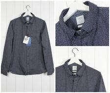 Camisas y polos de hombre de manga larga de color principal gris talla XL