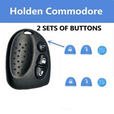2 Sets Blue Key Buttons Remote Repair Holden Commodore VS VT VX VY VZ WH WK WL
