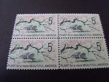 US Postage Stamp 1966 Plant for a More Beautiful America Scott 1318  4-5c