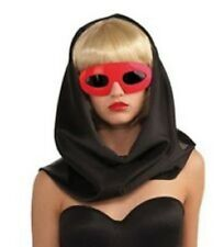 Lady Gaga Sunglasses Licensed Oval Frame Dark Shaded Costume Glasses Asso.
