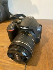 Nikon D3500 DSLR Camera + 18-55mm & 70-300mm Lenses, Extra Battery, Case