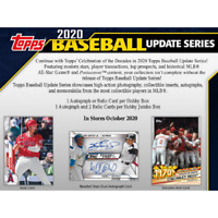 2020 TOPPS UPDATE BASEBALL HOBBY BOX FACTORY SEALED IN STOCK FREE SHIPPING