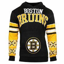 NHL Boston Bruins Boys 8-20 Long Sleeve Hooded Sweatshirt, Youth Large (14/16)