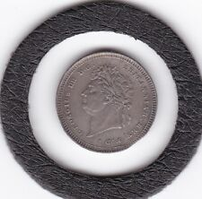 1828   King  George  IV    Maundy   Two  Pence  (m2d)  Coin  (92.5% Silver)