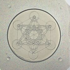Flexible Resin Or Chocolate Mold Sacred Geometry Metatron's Cube Orgone Orgonite