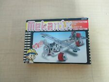 MEKANIX METAL CONSTRUCTION BUILDING TOY--AIRPLANE---BRAND NEW IN BOX