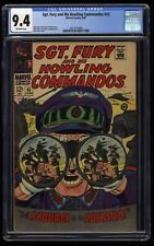 Sgt. Fury and His Howling Commandos #43 CGC NM 9.4 Off White