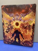 Doom Eternal Collector's Edition Steelbook Case Sealed PS4 Xbox One NO GAME
