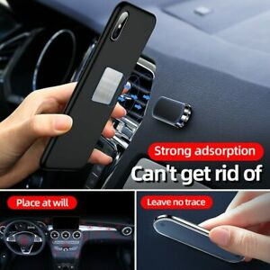 Magnetic Car Phone Holder Universal Paste Holder Stand For iPhone Samsung Xiaomi
