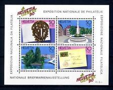 """SWITZERLAND - SVIZZERA - BF - 1990 - Espos. Filat. nazion. """"HELVETIA GENEVE '90"""""""