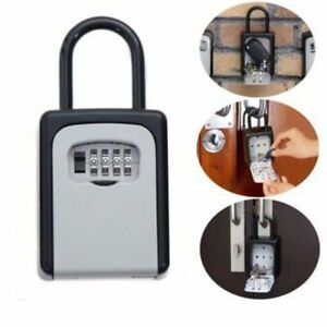 Storage Box Padlock Use Four Password Lock Outdoor Password Lock Hidden
