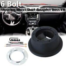 6 Bolt Steering Wheel Hub Quick Release Adapter Boss Kit For Ford Mustang Focus