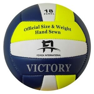 Beach Volleyball Soft Touch Official Size 5 Indoor/Outdoor Play Ball 18 Panels