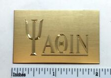Yaqin Custom Engraved Solid Brass Amplifier Logo Name Plate